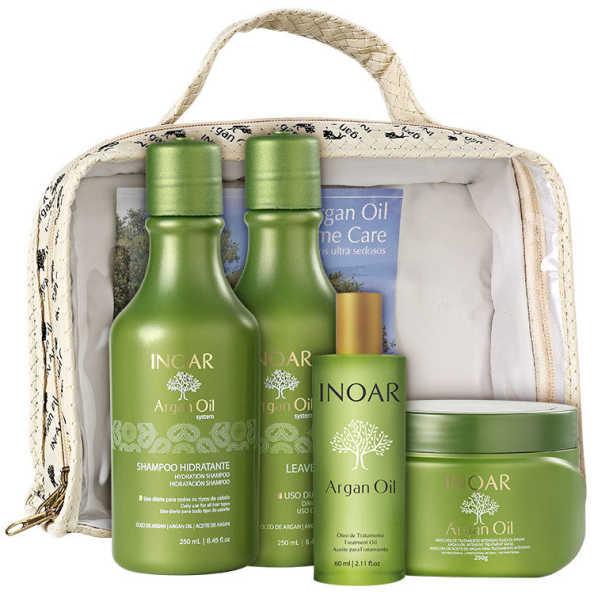 Inoar Argan Oil Home Care Kit (4 Produtos)