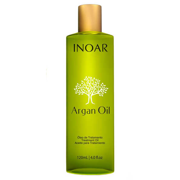 Inoar Argan Oil Home Care Serum - Óleo de Tratamento 120ml