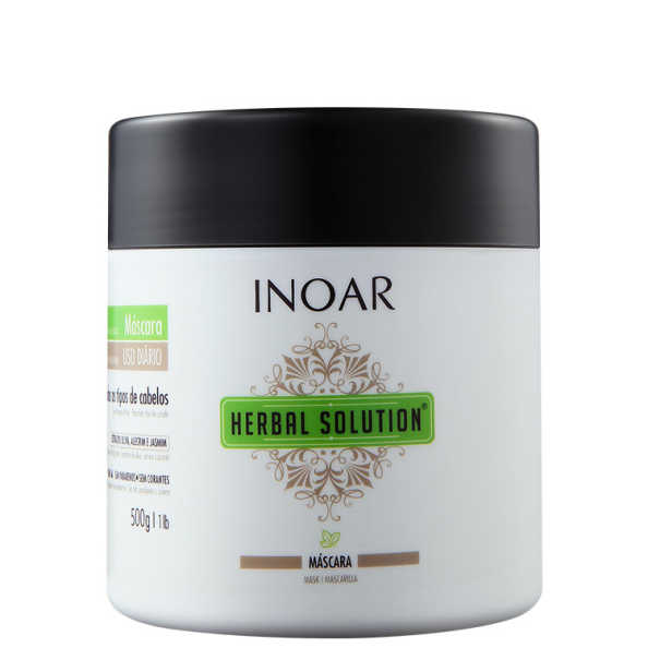 Inoar Herbal Solution – Máscara de Tratamento 500g