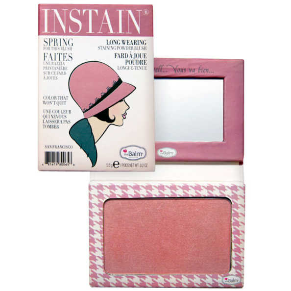 the Balm Instain Houndstooth Mauve - Blush Luminoso 5,5g