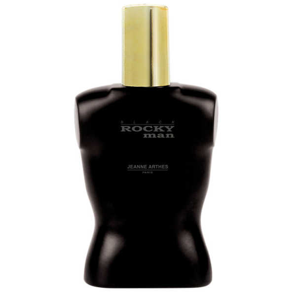 Rocky Man Black Jeanne Arthes Eau de Toilette - Perfume Masculino 100ml