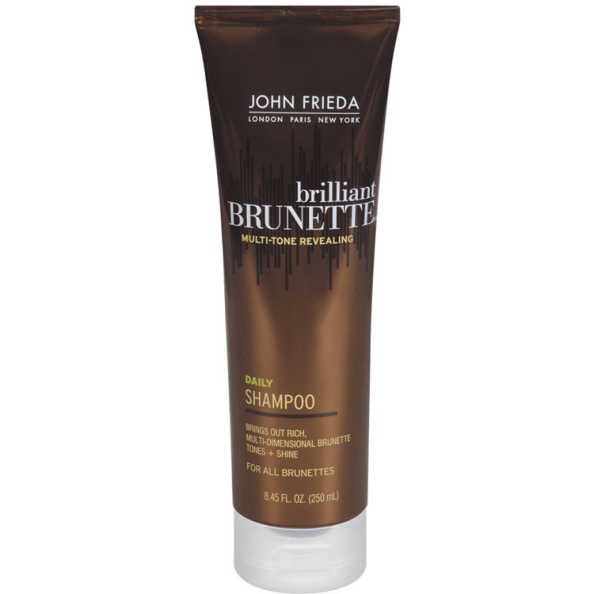 John Frieda Brilliant Brunette Daily - Shampoo 250ml