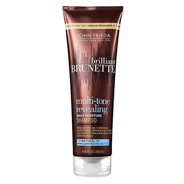 John Frieda Brilliant Brunette Moisturizing - Shampoo 250ml