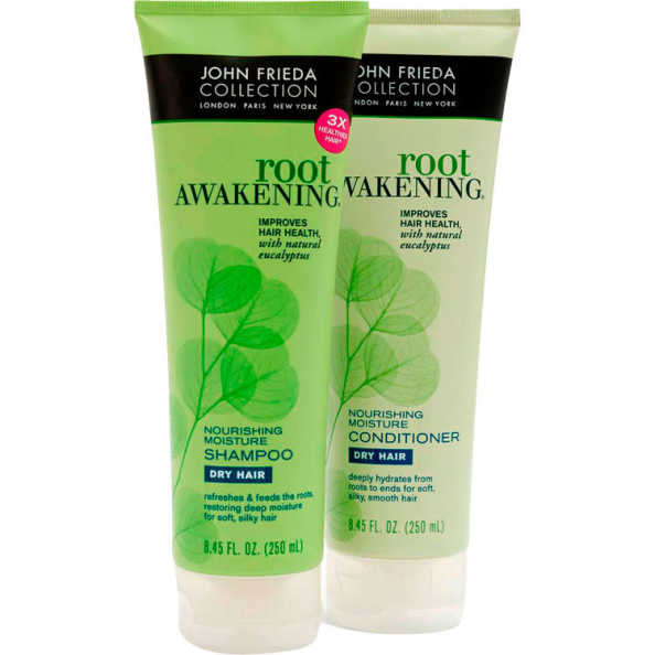 John Frieda Root Awakening Nourishing Moisture Duo Kit (2 Produtos)