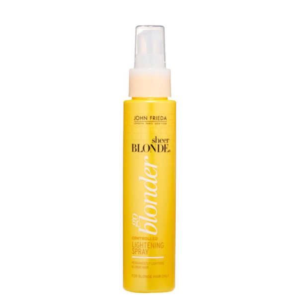 John Frieda Sheer Blonde Go Blonder Controlled Lightening Spray - Clareador Termoativado 103ml