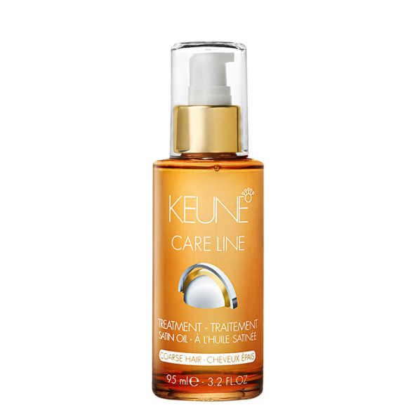 Keune Care Line Satin Oil Treatment Coarse Hair - Óleo Finalizador 95ml