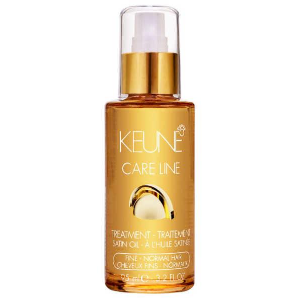 Keune Care Line Satin Oil Treatment Fine Normal Hair - Óleo Finalizador 95ml