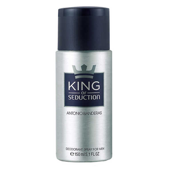 Antonio Banderas King of Seduction - Desodorante Masculino 150ml