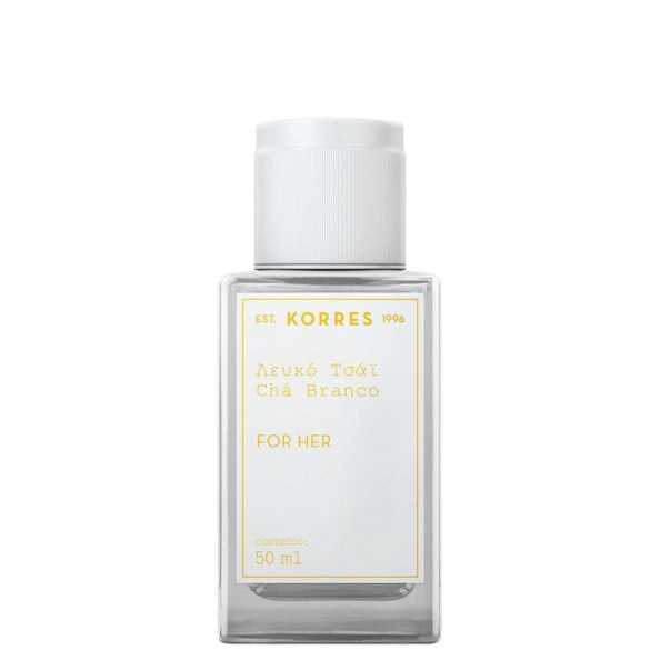 Chá Branco Korres Eau de Cologne - Perfume Feminino 50ml
