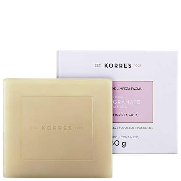 Korres Pomegranate - Sabonete de Limpeza Facial 80g