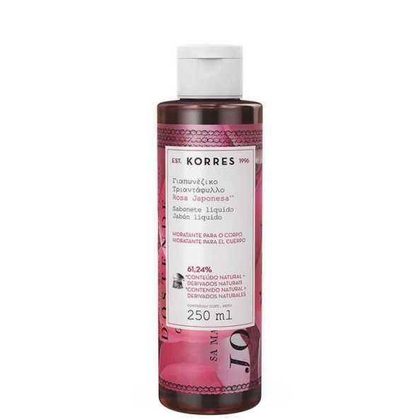 Korres Rosa Japonesa - Sabonete Líquido 250ml