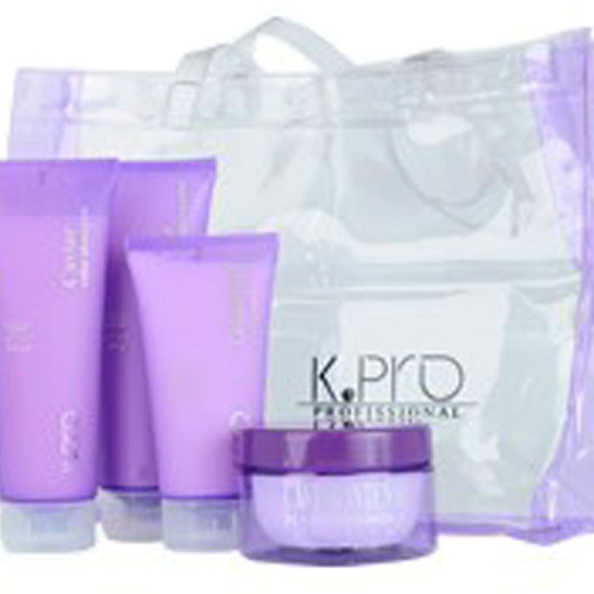 K.Pro Caviar Cabelos Grossos Kit Tratamento Intenso (4 Produtos + 1 Bolsa de Praia de Presente)