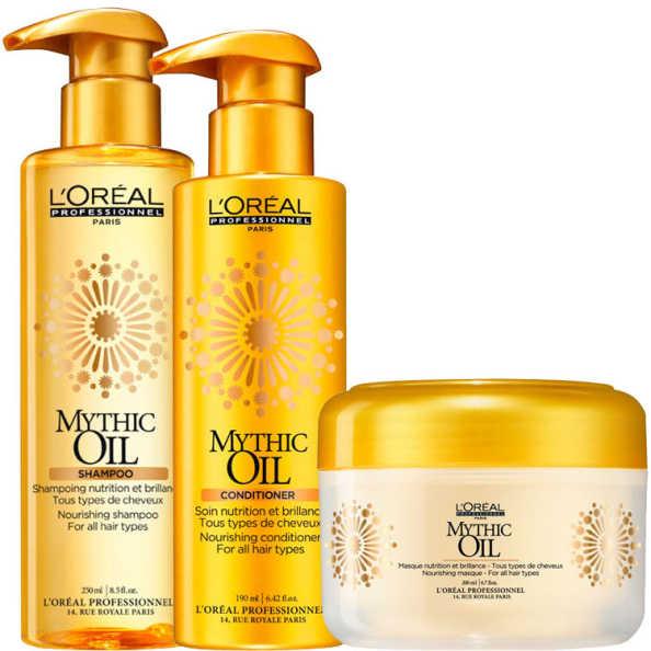 L'Oréal Professionnel Mythic Oil Treat Kit (3 Produtos)