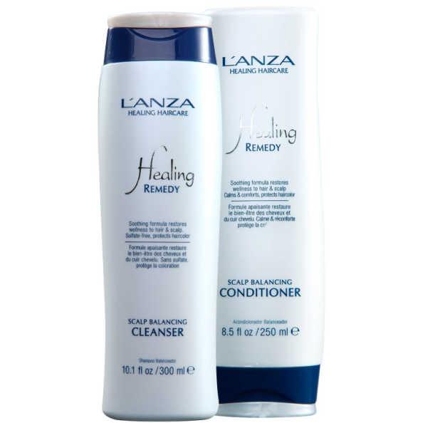 L'Anza Healing Scalp Balancing Cleanser Duo Kit (2 Produtos)