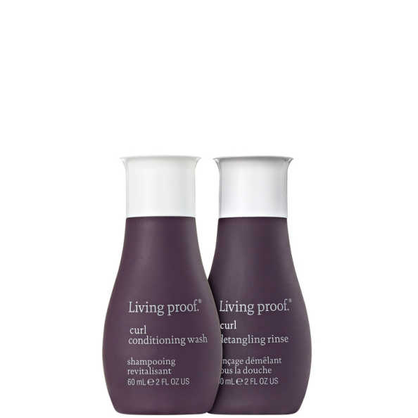 Living Proof Curl Duo Travel Kit (2 Produtos)