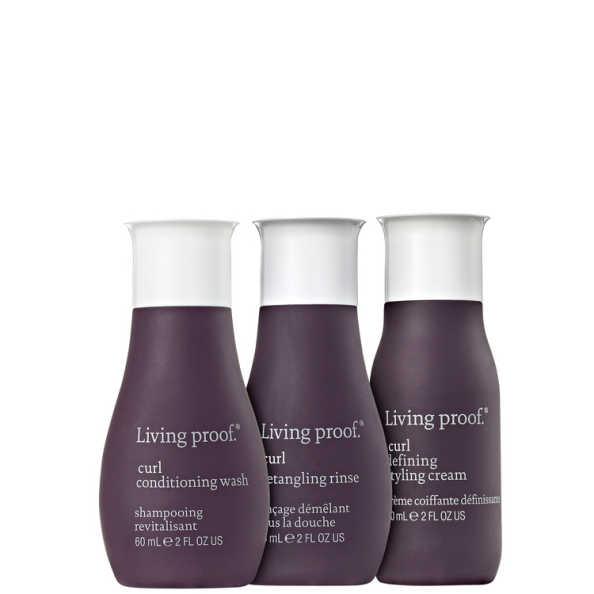 Living Proof Curl Styling Travel Kit (3 Produtos)