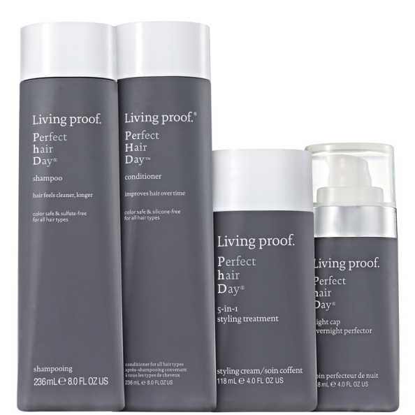 Living Proof Perfect Hair Day (PHD) Treatment Kit (4 Produtos)