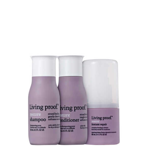 Living Proof Restore Repair Travel Kit (3 Produtos)