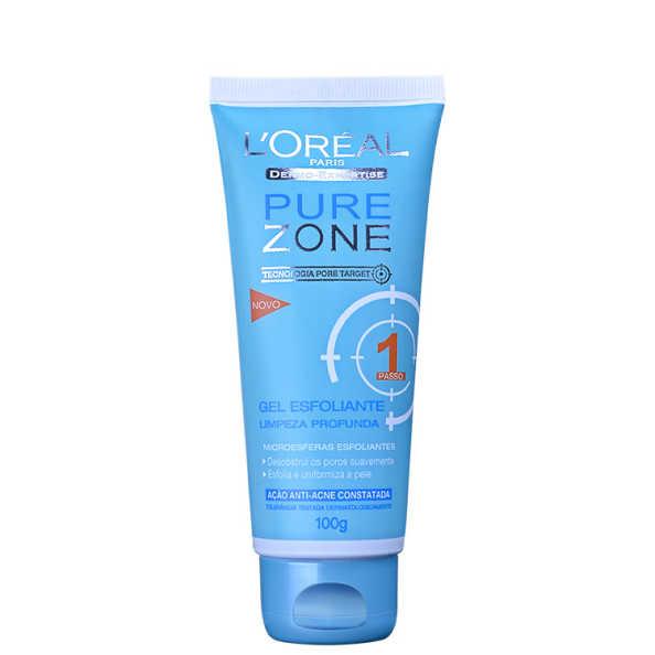 L'Oréal Paris Dermo-Expertise Pure Zone Limpeza Profunda – Gel Esfoliante 100g