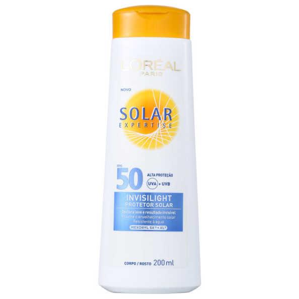 L´Oréal Paris Solar Expertise Invisilight FPS 50 - Protetor Solar 200ml