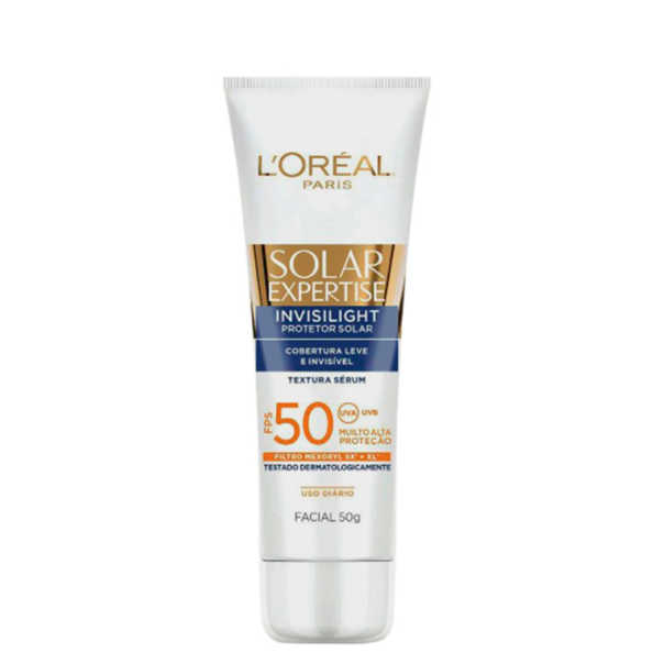 L'Oréal Paris Solar Expertise L'Oréal Paris Invisilight FPS 50 - Protetor Solar Facial 50g