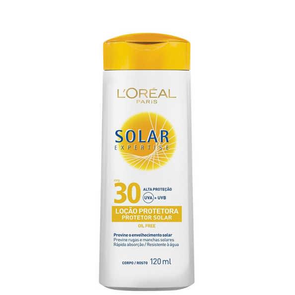 L'Oréal Paris Solar Expertise FPS 30 - Protetor Solar em Loção 120ml