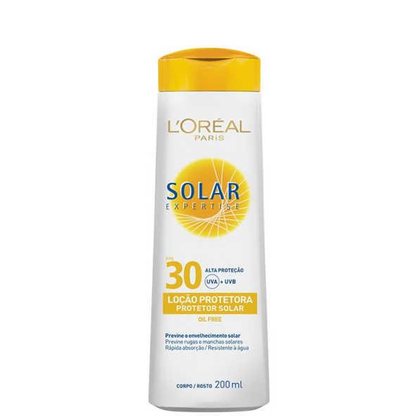 L'Oréal Paris Solar Expertise FPS 30 - Protetor Solar em Loção 200ml