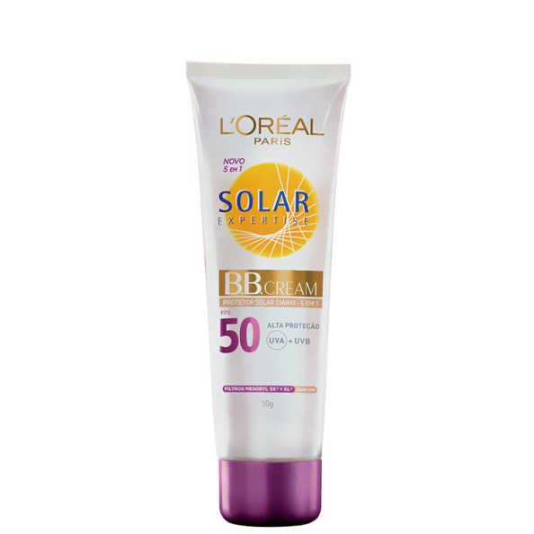 L'Oréal Paris Solar Expertise Protetor Solar Diário 5 em 1 com Cor FPS 50 - BB Cream 50g