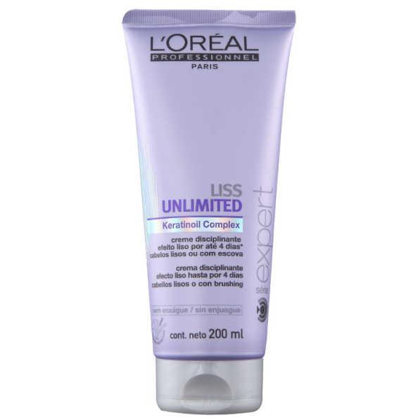 L'Oréal Professionnel Liss Unlimited - Creme Disciplinante 200ml
