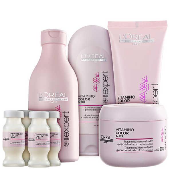 L'Oréal Professionnel Vitamino Color  A.OX Full Kit (5 Produtos)