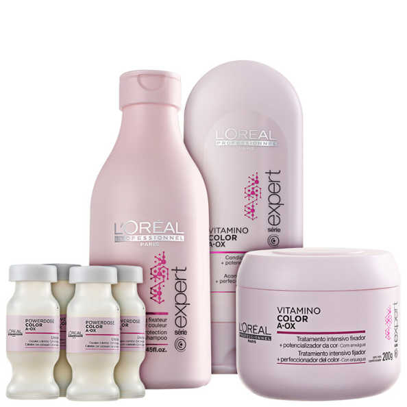 L'Oréal Professionnel Vitamino Color  A.OX Treatment Kit (4 Produtos)