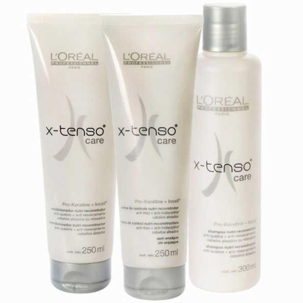 L'Oréal Professionnel X-Tenso Care Discipline Kit (3 Produtos)