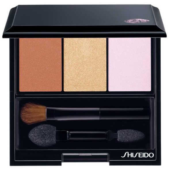 Shiseido Luminizing Satin Eye Color Trio Br214 - Trio de Sombras 3g