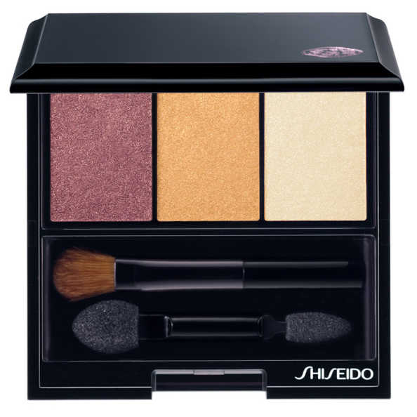 Shiseido Luminizing Satin Eye Color Trio Rd299 - Bronze/gold/Beige