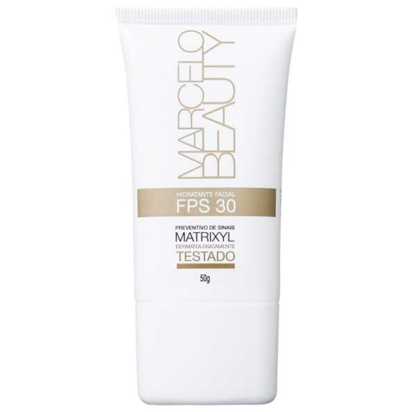 Marcelo Beauty Hidratante Facial FPS 30 - Hidratante Facial 50g