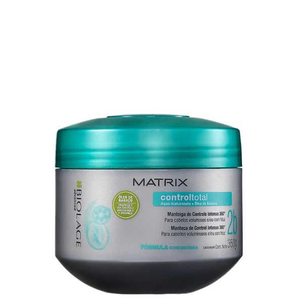 Matrix Biolage Controltotal Manteiga de Controle Intenso 360° - Máscara de Tratamento 350g
