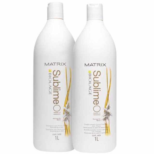 Matrix Biolage Sublime Oil Duo Salon Kit (2 Produtos)