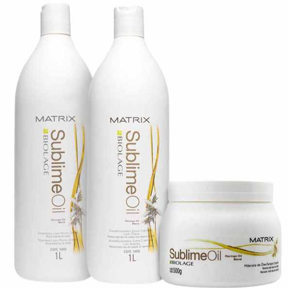 Matrix Biolage Sublime Oil Intense Salon Kit (3 Produtos)