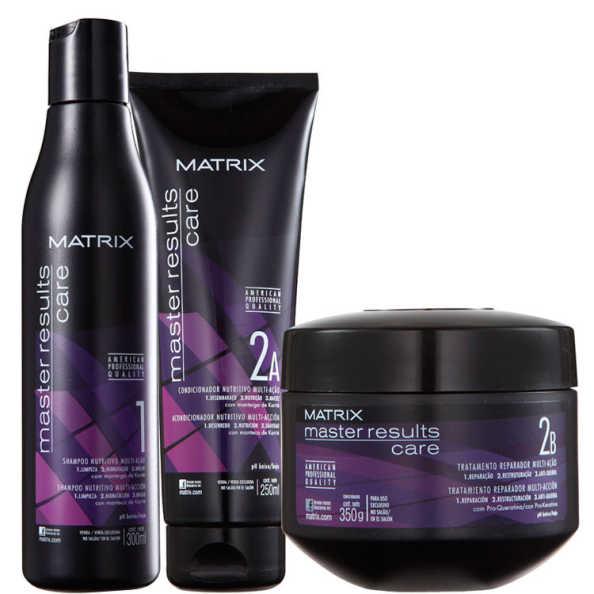 Matrix Master Results Care Tratamento Reparador Kit (3 Produtos)