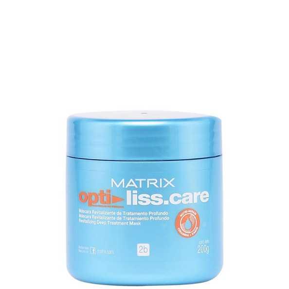 Matrix Opti Liss.Care Máscara Revitalizante de Tratamento Profundo - Máscara de Tratamento 200g