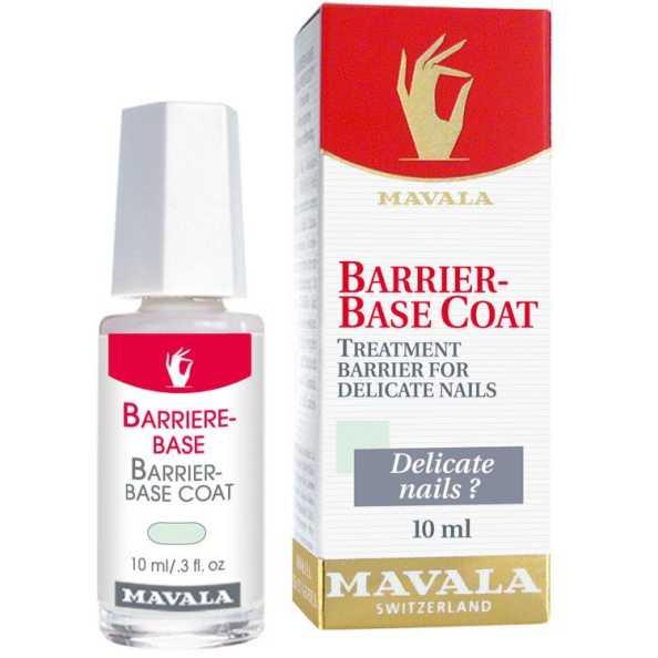 Mavala Barrier Base Coat - Base para Unhas Sensíveis 10ml