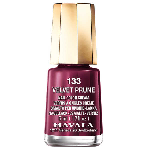 Mavala Mini Color Velvet Prune N133 - Esmalte 5ml