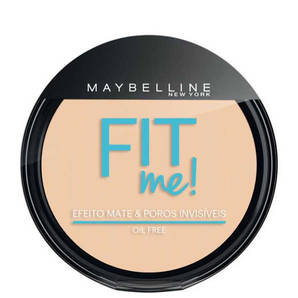 Maybelline Fit Me! Cor 000 Translúcido Essencial - Pó Compacto Natural