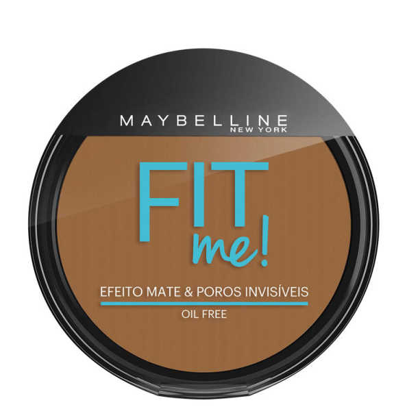 Maybelline Fit Me! Cor 300 Escuro Original - Pó Compacto Natural