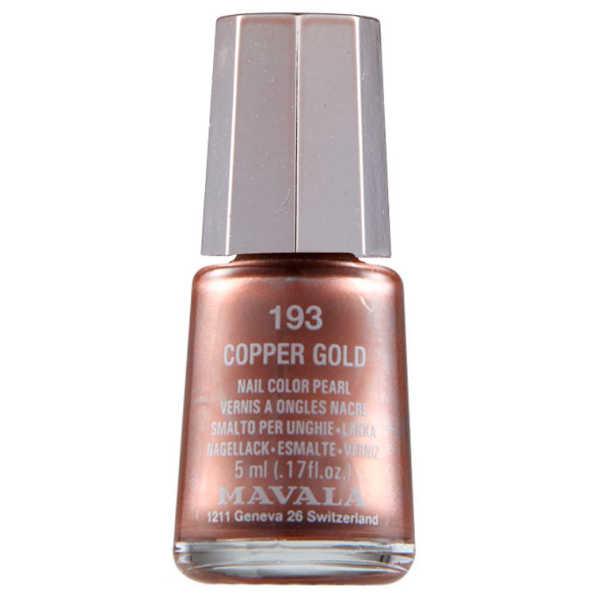 Mavala Mini Color Copper Gold - Esmalte 5ml