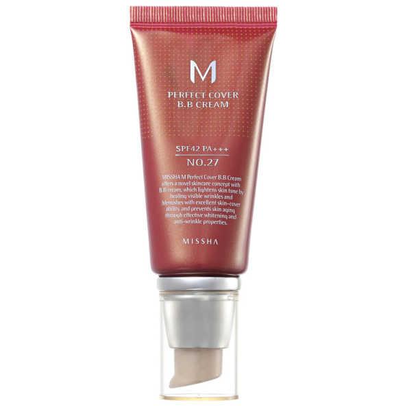 Missha M Perfect Cover Nº 27 Honey Beige - BB Cream 50ml