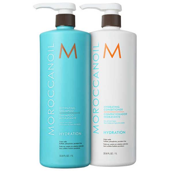 Moroccanoil Hydrating Duo Kit (2 Produtos)