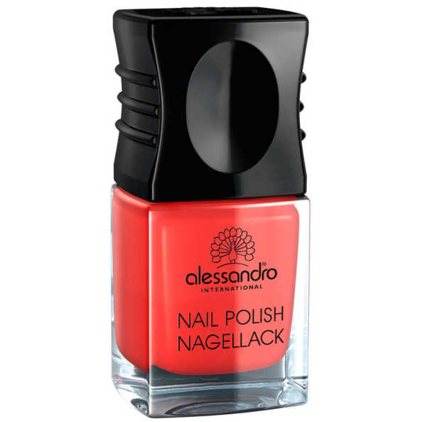 Alessandro Nail Polish Orange Red - Esmalte 10ml