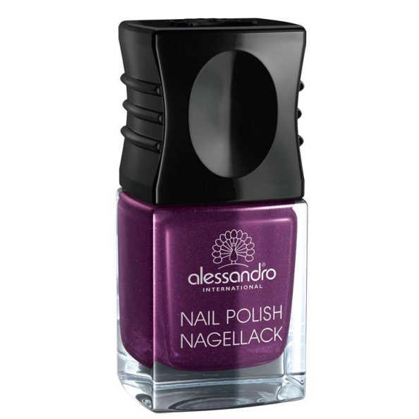 Alessandro Nail Polish Purple Purpose Glitter - Esmalte 10ml