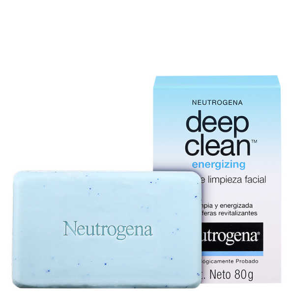 Neutrogena Deep Clean Energizing - Sabonete Facial 80g